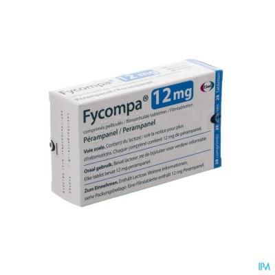 FYCOMPA 12 MG OMHULDE TABL 28 X 12 MG