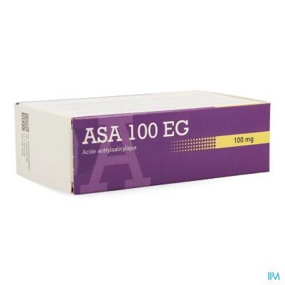 Asa 100 Eg Comp Maagsapresistente 168 X 100mg