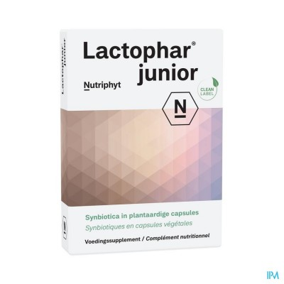 Lactophar junior 20 CAP 2x10 BLISTERS