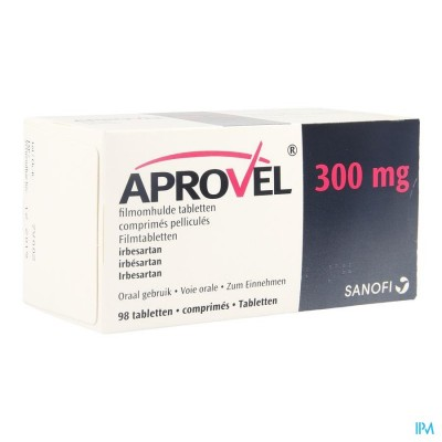 Aprovel Tabl 98x300mg