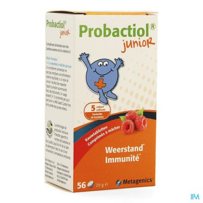 Probactiol Junior Kauwtabl 56 Nf 24581 Metagenics
