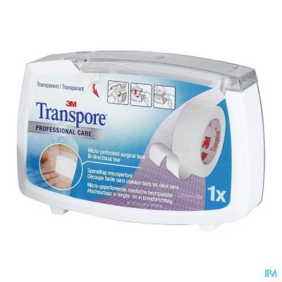 Transpore N/disp. 12,5mmx5m 1527p-0sd