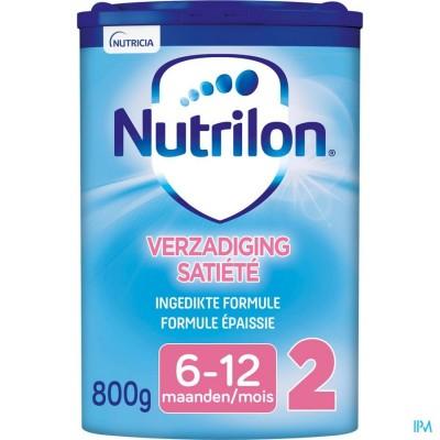 Nutrilon verzadiging 2 poeder 800g opvolgmelk