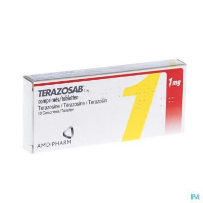 Terazosab Comp 10 X 1mg