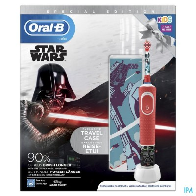 ORAL B D100 STAR WARS + TRAVELCASE GRATIS