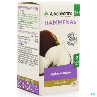 Arkocaps Rammenas Bio Caps 40