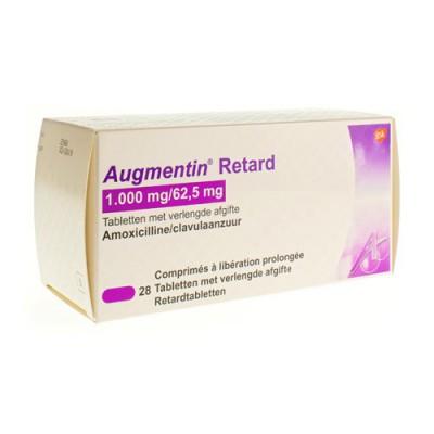 AUGMENTIN RETARD TABL 28X1G