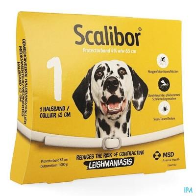 Scalibor Halsband 65cm Hond