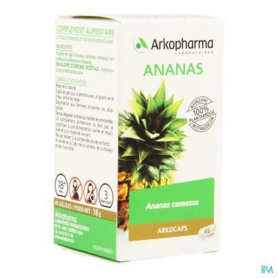 Arkocaps Ananas Plantaardig 45