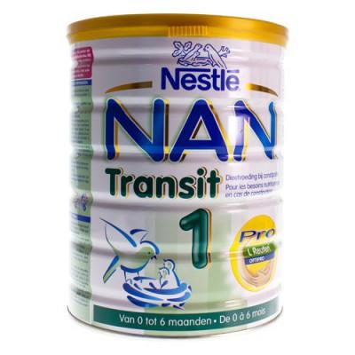 NAN TRANSIT 1 POEDERMELK 1LFTD 800G