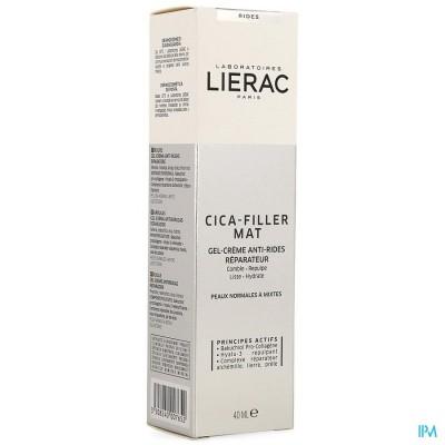 LIERAC CICA FILLER GEL CR A/RIMPEL HERST.TUBE 40ML