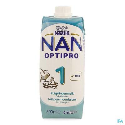 NAN OPTIPRO 1 STARTMELK 0- 6M TETRABRICK 500ML