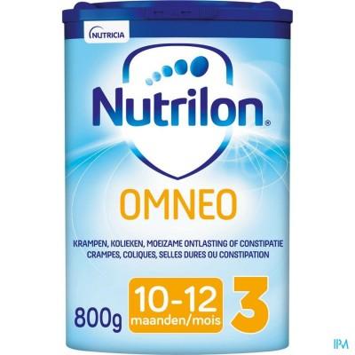 Nutrilon Omneo 3 Opvolgmelk constipatie en krampen vanaf 10 maanden poeder 800g
