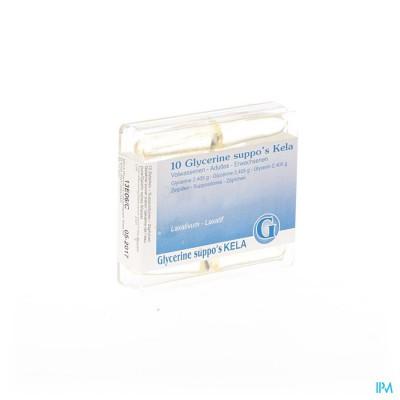 Glycerine Kela Pharma Supp Ad 10