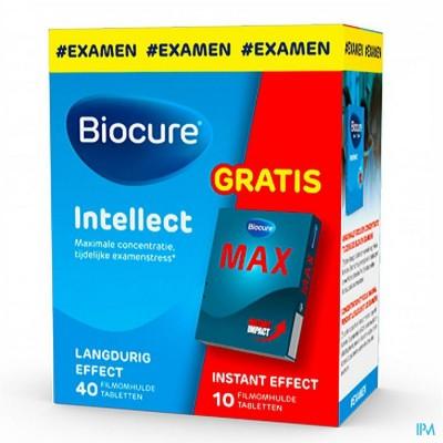 Biocure Intellect Pack Comp 40+ Max Comp 10 Grat.