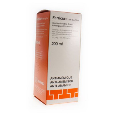 FERRICURE SOL 200 ML