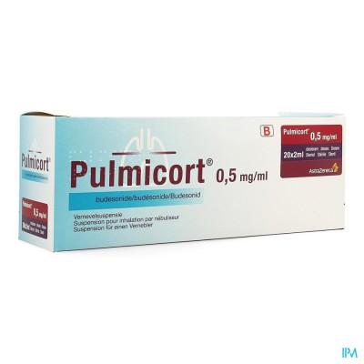 PULMICORT PI PHARMA DOS NEB 0,50MG/ML 20X2ML PIP