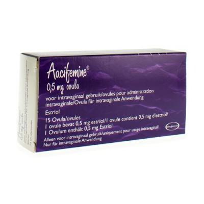 AACIFEMINE OVUL. 15