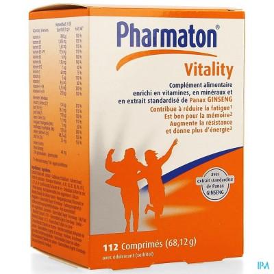 Pharmaton Vitality Comp 112