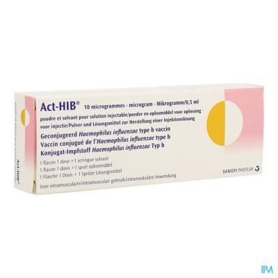 ACT HIB ENTST FL LYOPH+SOLV 0,5ML
