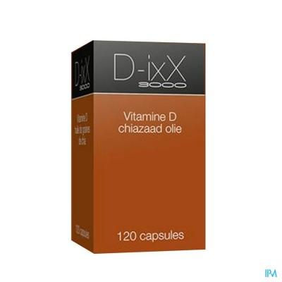 D-ixx 3000 Zinc Softcaps 120