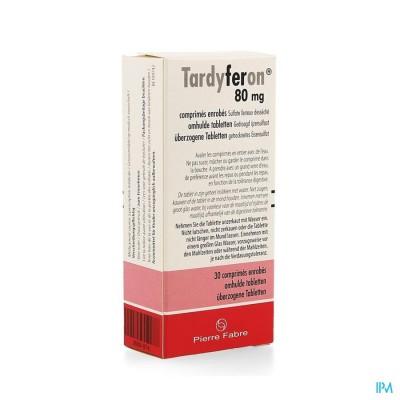 Tardyferon 80mg Filmomh Tabl 30