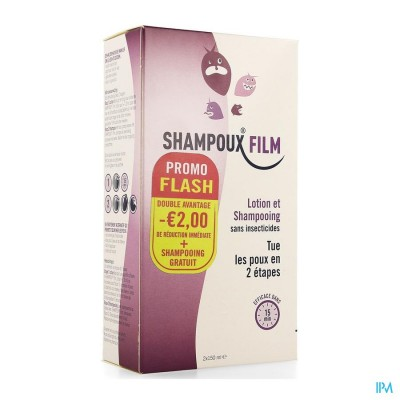 Shampoux Film (Lotion + Shampoo) PROMO -€2 2 x 150 ml