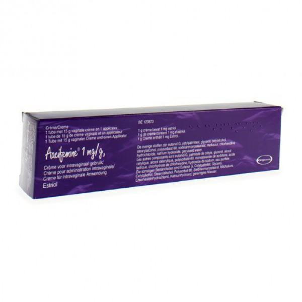 AACIFEMINE CREME VAG.TUBE+APPL. 15G