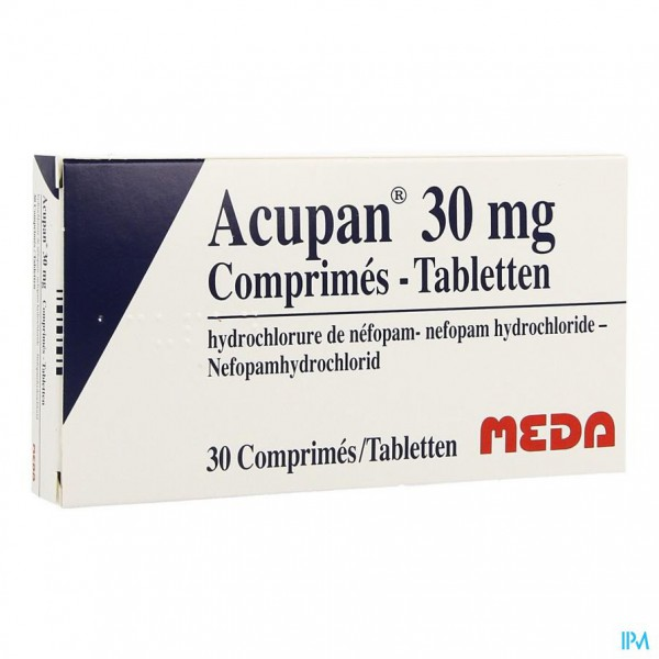 Acupan Comp 30 X 30mg