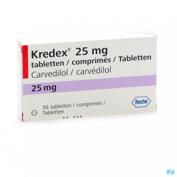 Kredex Comp 56x25,00mg
