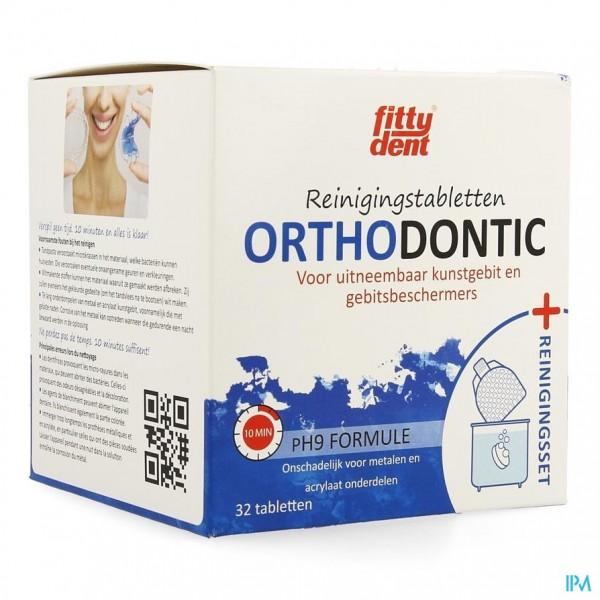 Fittydent Orthodontic Reinigingset + Bruistabl 32