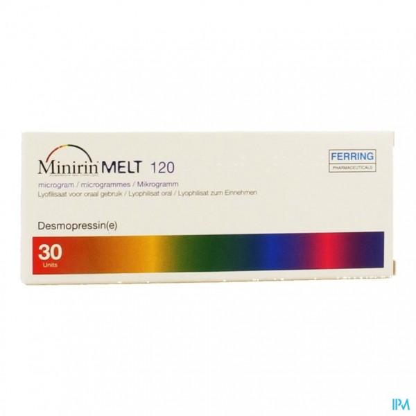 Minirin Melt 120 Ug Lyoph Or 30