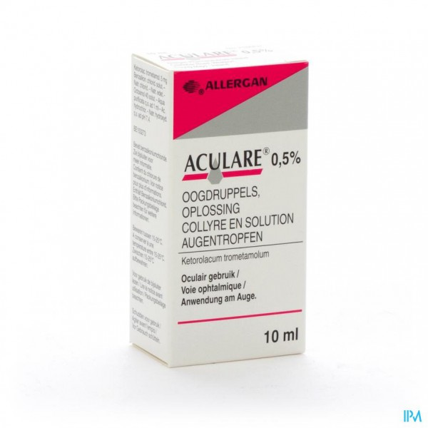 Aculare Collyre 10ml