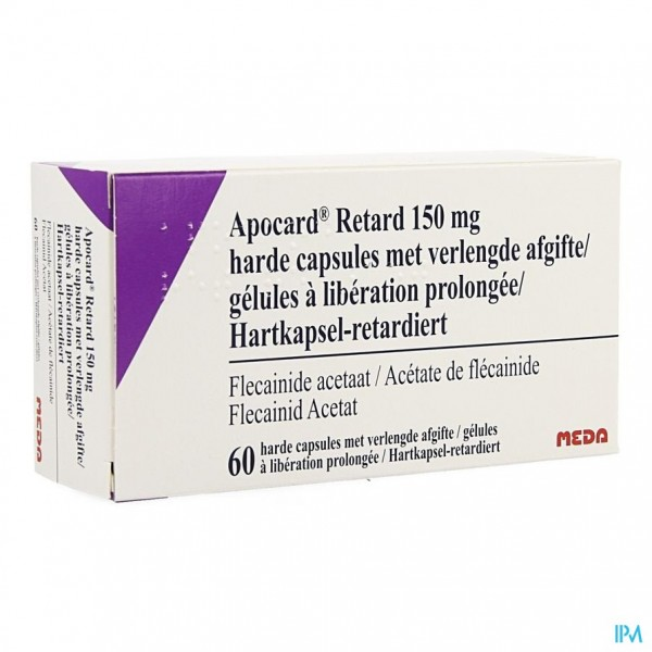 Apocard Retard Caps 60 X 150mg