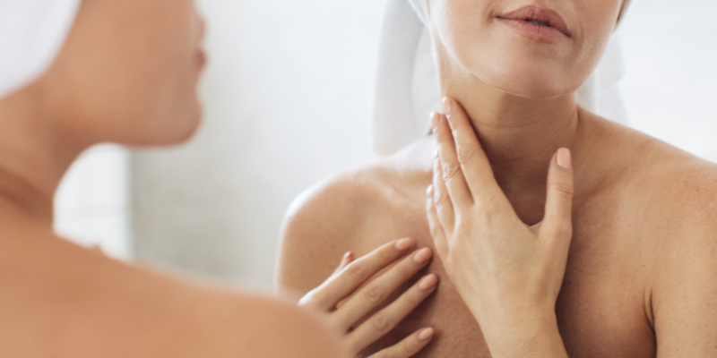 Verzorging van je hals en decolleté